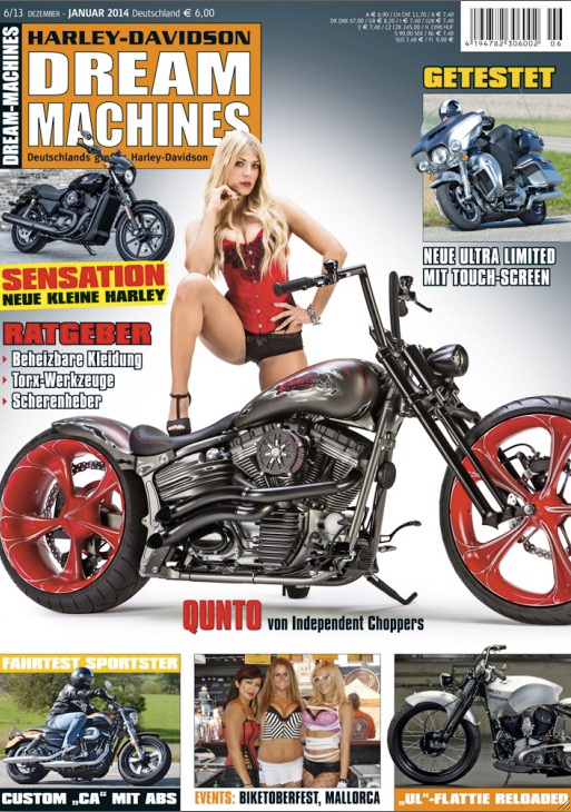 Dream Machines Ausgabe Januar 2014